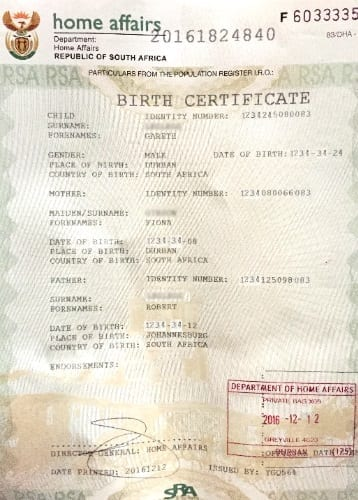 new full birth certificates issued by dha » move up - uk visa solutions