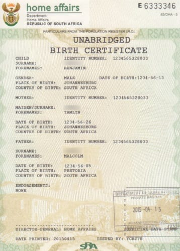 New Full Birth Certificates Issued By Dha 187 Move Up Uk